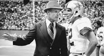 Tom Landry and Roger Staubach