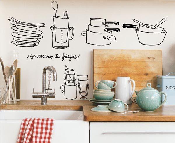 17 best ideas about vinilos decorativos para cocina on pinterest ...