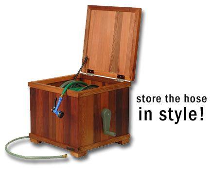 Baldwin Lawn Furniture - Boxes - Hose Reel Box