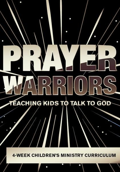 Prayer Warriors Children's Ministry Curriculum will help teach your kids 4 fun Bible lessons on how to pray. Perfect for kids church or Sunday School.