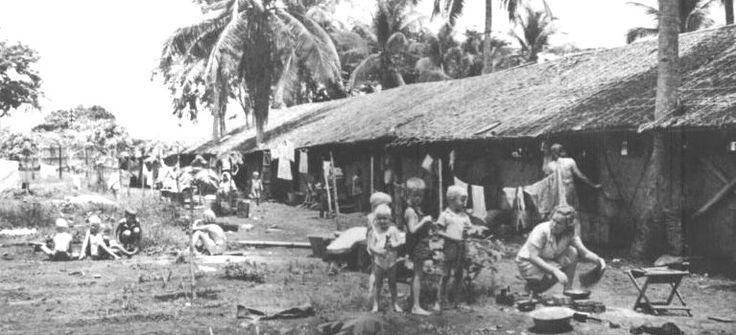 Japanese prisoner of war camp in Java