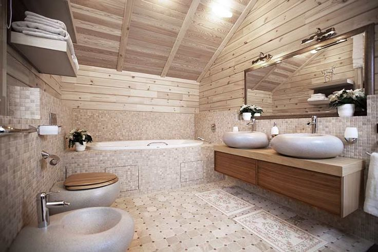 Отличная ванная комната, не правда ли?