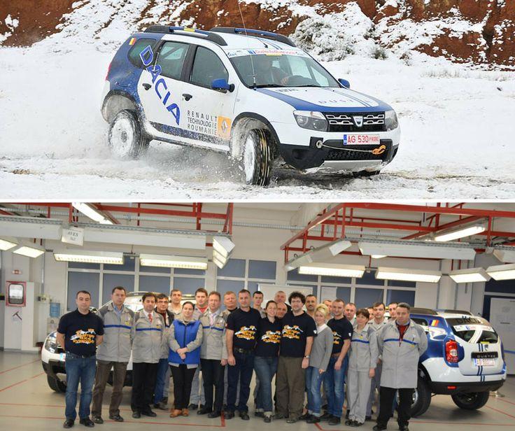 Echipa DUSTER 4X4 EVERYONE este pregătită pentru 2015. Mașinile modificate la Mioveni au trecut primele teste pe teren accidentat. Îți plac?
