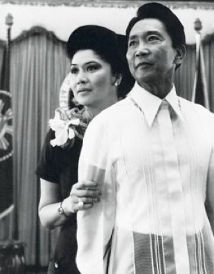 Ferdinand and Imelda Marcos - royal first couple of the Philippines, my long lost parents.