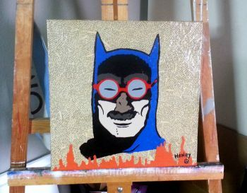 Batman IN DISGUISE - Pop Art FREE SHIPPING  Artist: Velazquez, Karlo H  Artwork title: In Disguise  Price: $200
