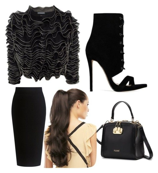 """""""Untitled #185"""" by jessieeev on Polyvore featuring Alexander McQueen and Theory"""