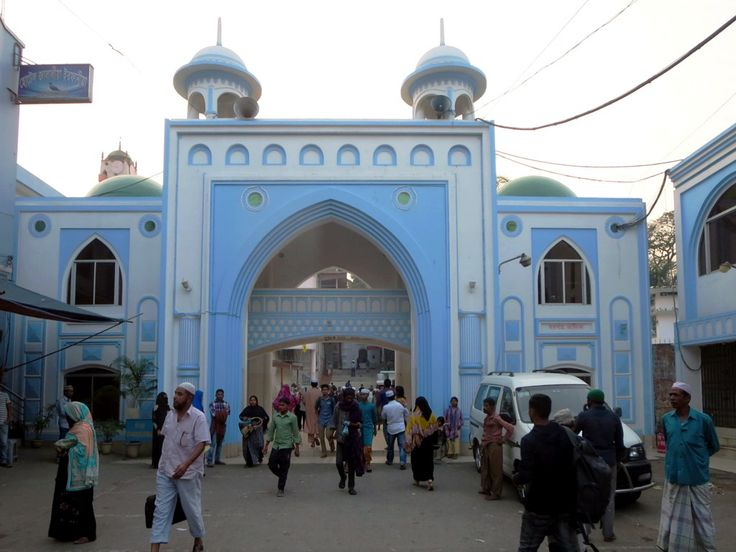 The East Darga Gate is the main entrance to the Shrine of Hazrat Shah Jalal in Sylhet, Bangladesh.