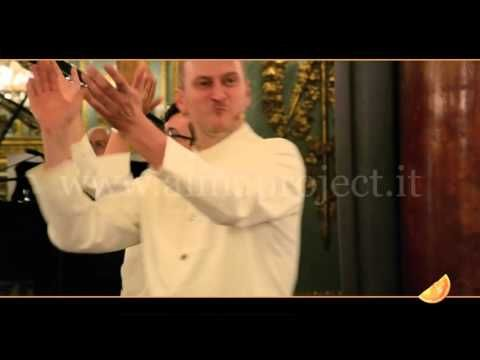 ALMA PROJECT - Three Tenors / Singing Waiters - Funiculì Funiculà - YouTube