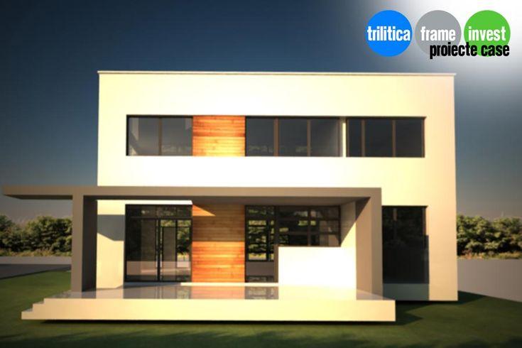 Proiect de casă cu arhitectură modernă 04