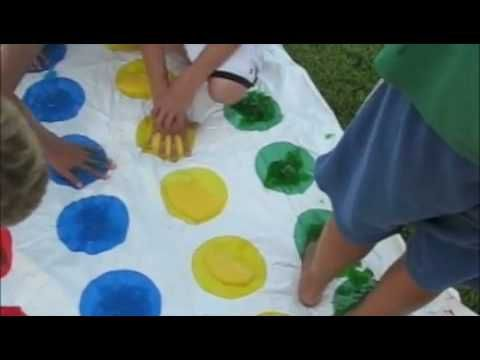 Messy Twister - oh this looks like fun!!!!