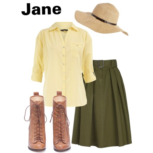 Jane - Tarzan. Just for fun :P would so go to Starbucks and tell them my name is jane!