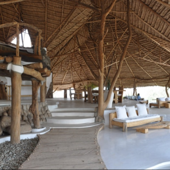 Hotel Shompole in Kenya.  I would want a house done just like this, but in Malibu.