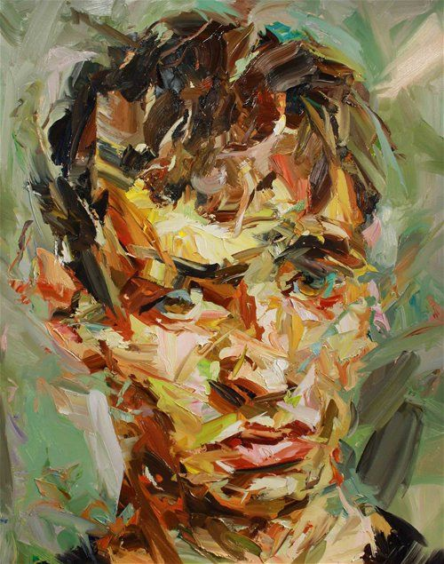 Paul Wright, Head of a young man I felt various feeling from this painting. It looks like todays' young generations. I think, The colors are the number of their worries