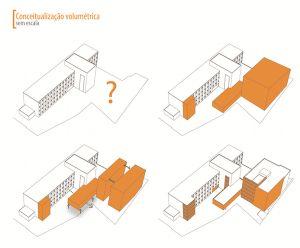 Arquitetura - Partido Arquitetônico - Conceitualização | 24.7 Arquitetura Design