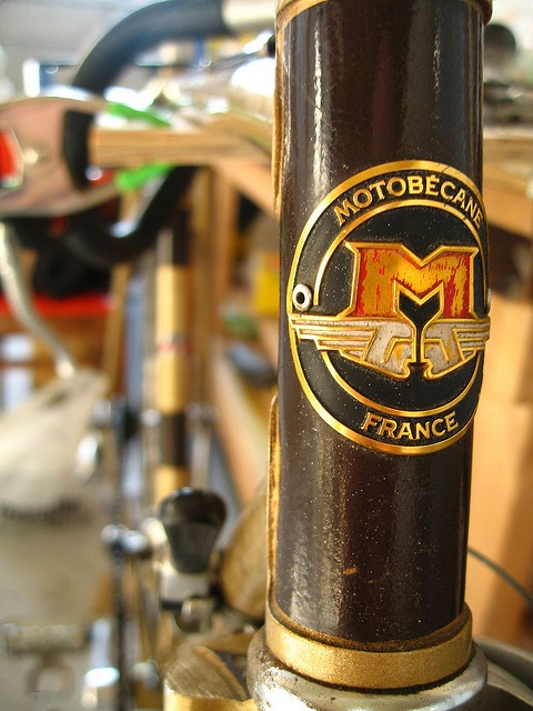 late 70's early 80's motobecane by chadmagiera, via Flickr