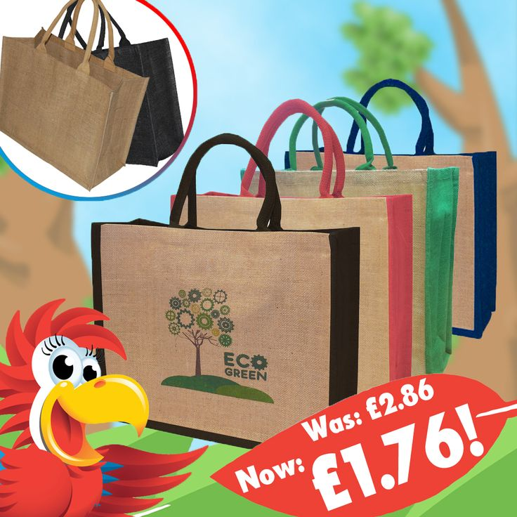 The Solstice Jute bag has had a great price reduction! For the quantity of 100, you will now save £1.10! Have your customers carry your logo in style! https://www.promoparrot.com/promotional-bags/cotton-tote-shopping-bags/large-jute-shopper.html #promo #solstice #jute #totebag