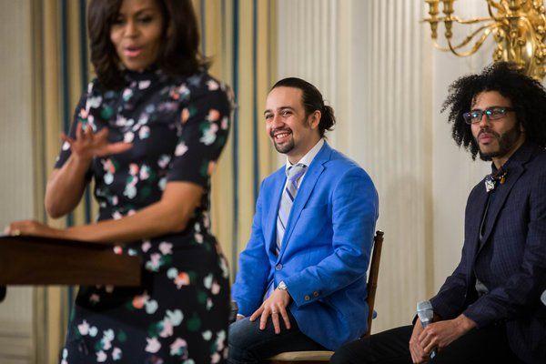 hamilton takes a road trip to the white house