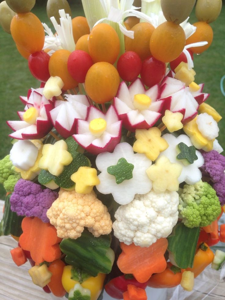 Would your family eat more veggies with this on the table? Crudite Creation for your next party.