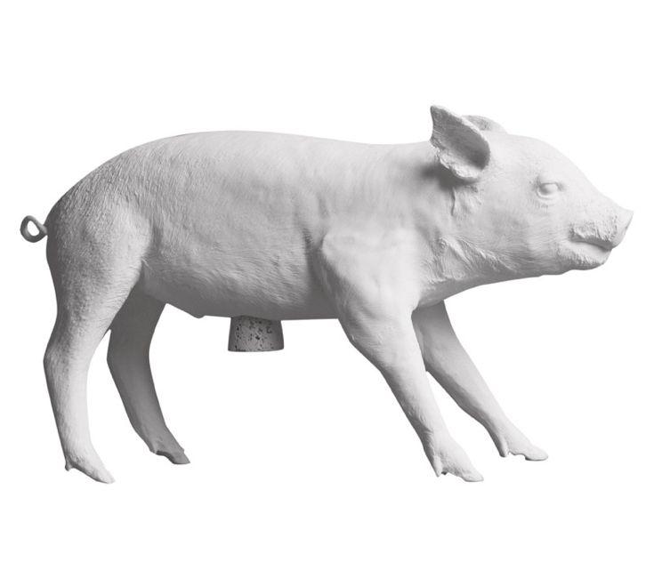 Areaware Pig Bank Sparegris - Hvid - Tinga Tango Designbutik