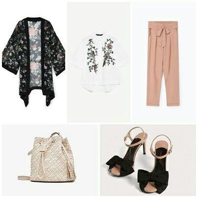 Look del día. Kimono de Stradivarius Camisa de Zara Pantalón de Lefties Bolso de Massimo Dutti Sandalias de Uterqüe. #lookdeldia #fashion #fashionblogger #instablogger #instastyle #style #mystyle #womensfashion #woman #outfittheday #tuesday #asesoriadeimagen #mode #moda #stradivarius #zara #lefties #massimodutti #uterqüe