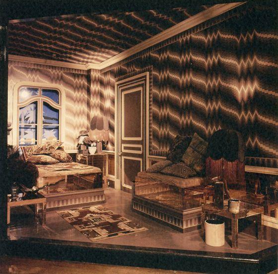 Bild från varuhuset Biba London 70-talet!