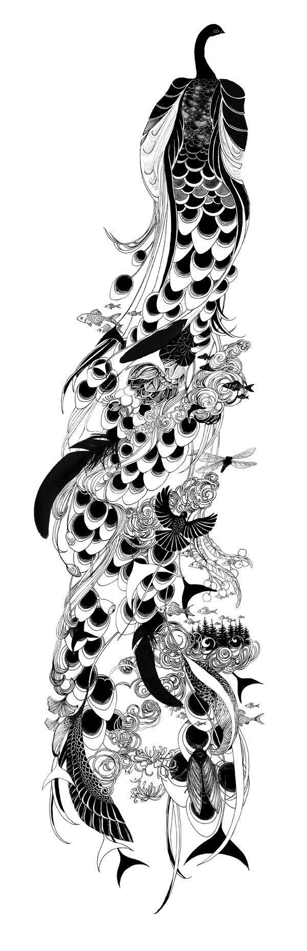50 illustrations graphiques et originales autour de l'oiseau