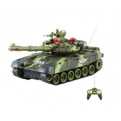Zdalnie Sterowane Czołgi T-90 Dwie Sztuki - to idealna zabawka dla np. taty i syna, czy dwóch braci. Zestaw pozwala na rozgrywanie wielu scenariuszy walk między dwoma czołgami.   Chcesz wiedzieć więcej? Zobacz opis, dane techniczne, komentarze oraz film Video. Nie ma jeszcze komentarzy, to czemu nie zostawisz swojego:)  #czolgi #t90 #modele #rc #zdalnie #sterowane