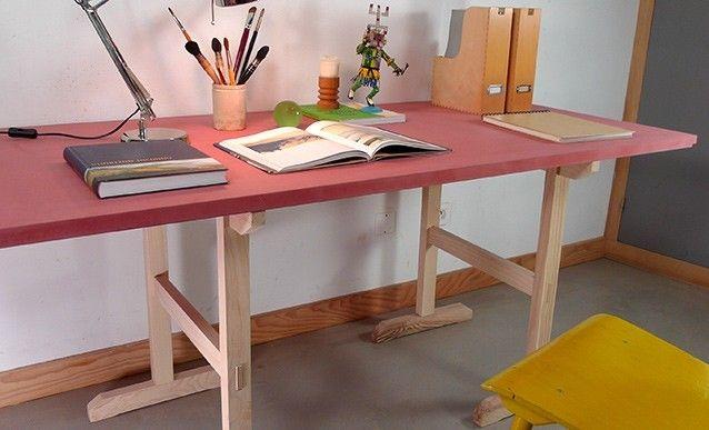 Les 23 meilleures images propos de mobilier sur - Construire une table de chevet ...