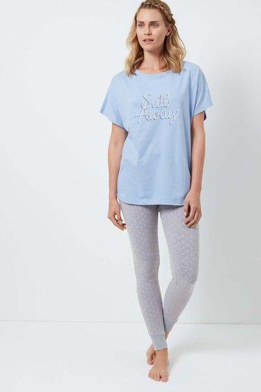 Denim Sail Away Pyjama Set