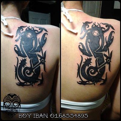 1000 ideas about borneo tattoos on pinterest iban tattoo tattoos and marquesan tattoos. Black Bedroom Furniture Sets. Home Design Ideas