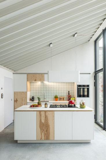 Architectenkantoor: Architectenbureau De Lange - Een rijwoning met loftgevoel
