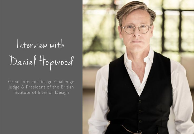 President of the British Institute of Interior Design and co-judge of popular BBC show The Great Interior Design Challenge, Daniel Hopwood has had a very busy 2016...…