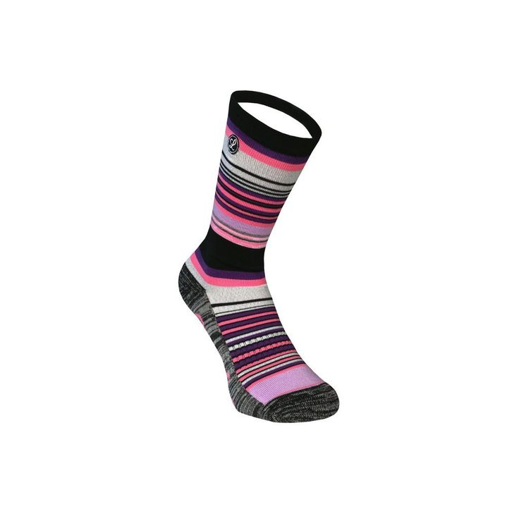 Legends Sock Company Lifestyle Knits Gus Grey Pink Crew Socks