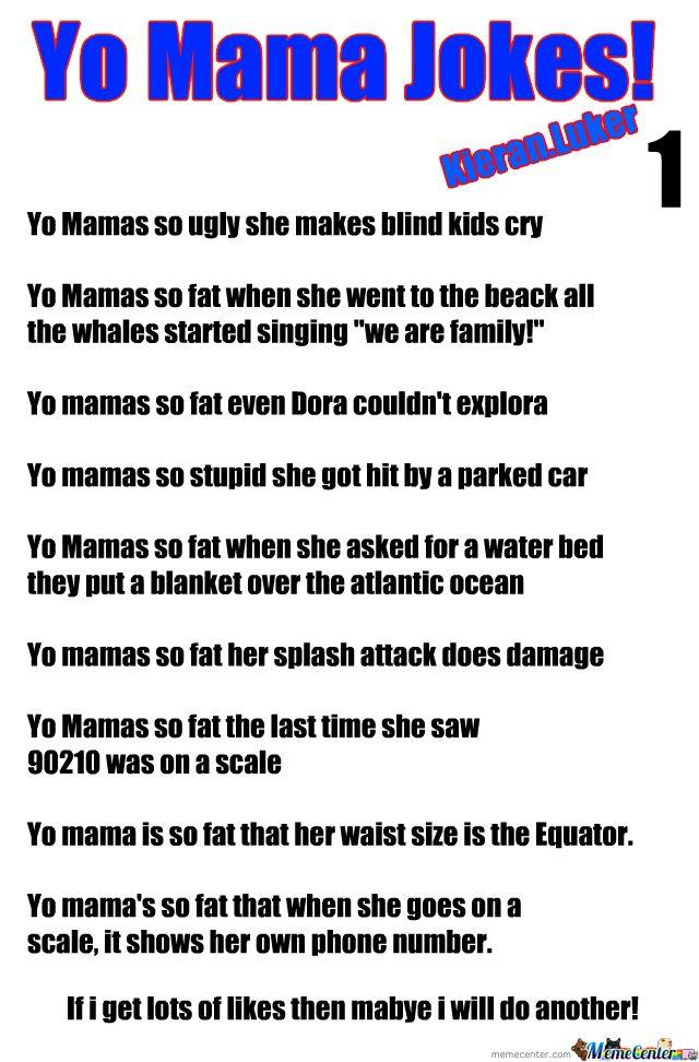 """yo mama jokes"" pics - Google Search"