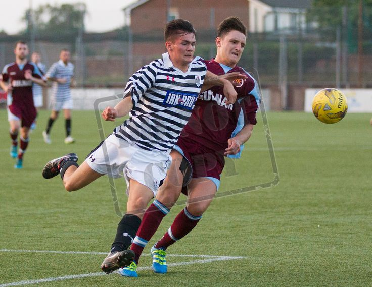 Queen's Park's Ewan MacPherson in action during the Betfred Cup game between Stenhousemuir and Queen's Park.