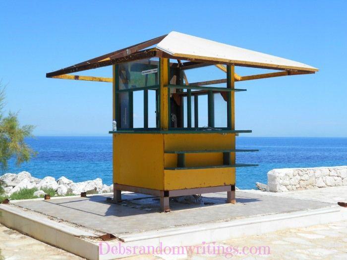 Old Greek Kiosks