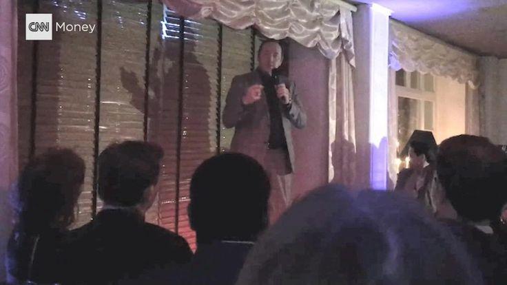 Kevin Spacey singing Sinatra in Davos.