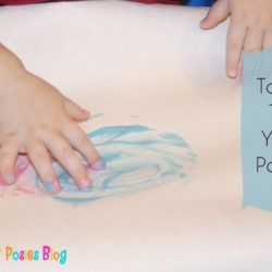 Toddler Time: Yogurt Finger Paint
