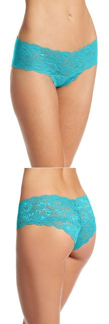 Blue Panties Cosabella Women's Never Say Never Hottie Low-Rise Hipster Panty $11.91 - $34.94 & FREE Returns on some sizes and colors.