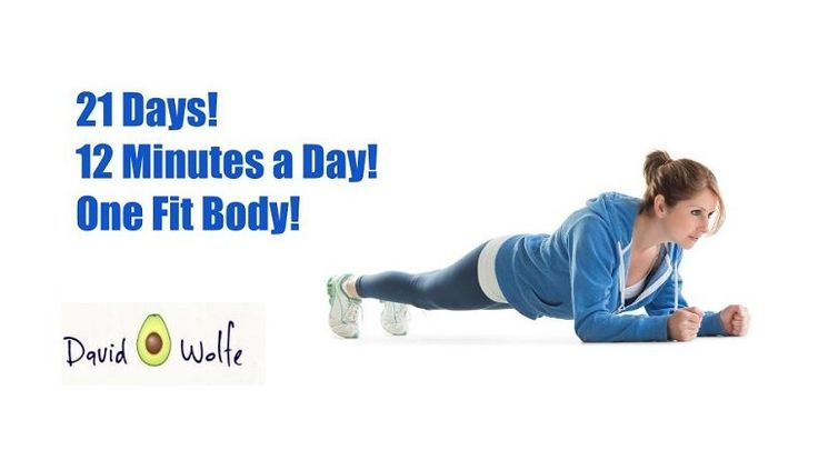21 days, 12 minutes a day = one fit body! 6 simple exercises that will transform your body in 3 weeks.