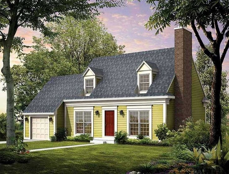 186 best simple house plans images on capes simple