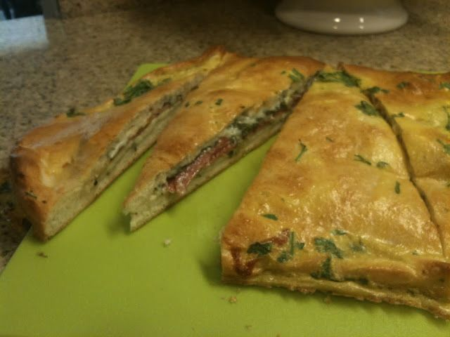 ... -Mozzarella Calzone | Calzones | Pinterest | Calzone and Mozzarella