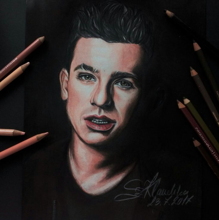 Charlie Puth drawing