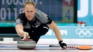 Canada's skip Brad Jacobs wins gold in Sochi. ....