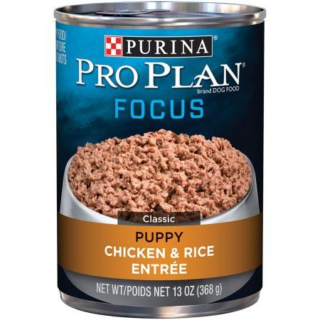 Purina Pro Plan Focus Puppy Chicken & Rice Entree Classic Puppy Wet Dog Food, 13 Oz.