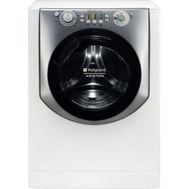Hotpoint AQUALTIS AQ83L 09 IT Libera installazione Caricamento frontale 8kg 1000RPM A+++ Acciaio inossidabile, Bianco lavatrice