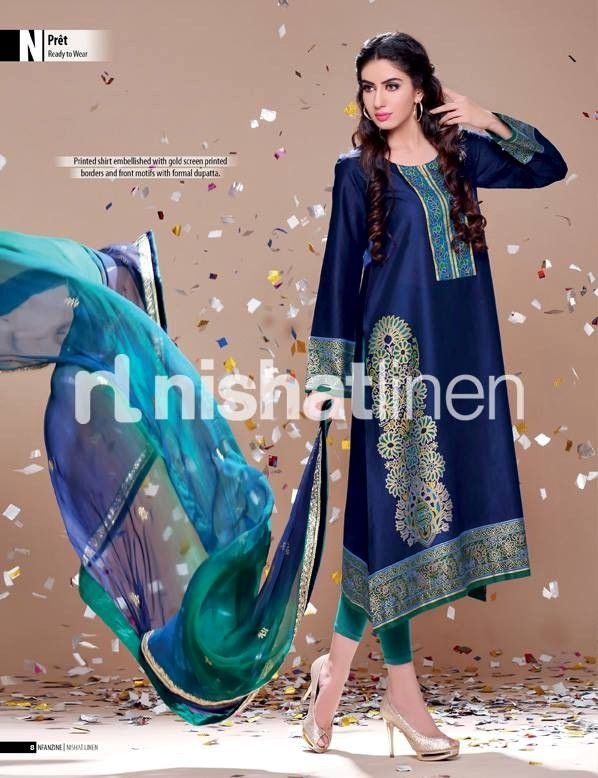 Nishat Linen Eid Collection 2014-2015 Fresh Arrivals