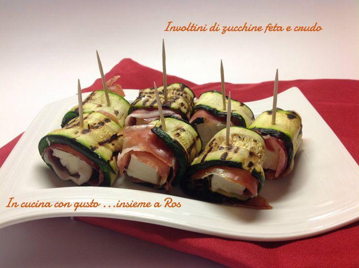 Involtini di zucchine ricetta facile