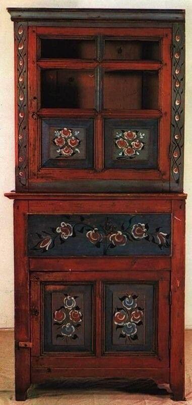 M s de 25 ideas incre bles sobre armario pintado en - Disenos muebles pintados ...