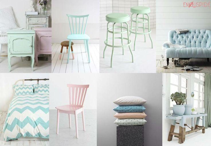 Decoración Color Pastel | Pastel Stuff For Decor House